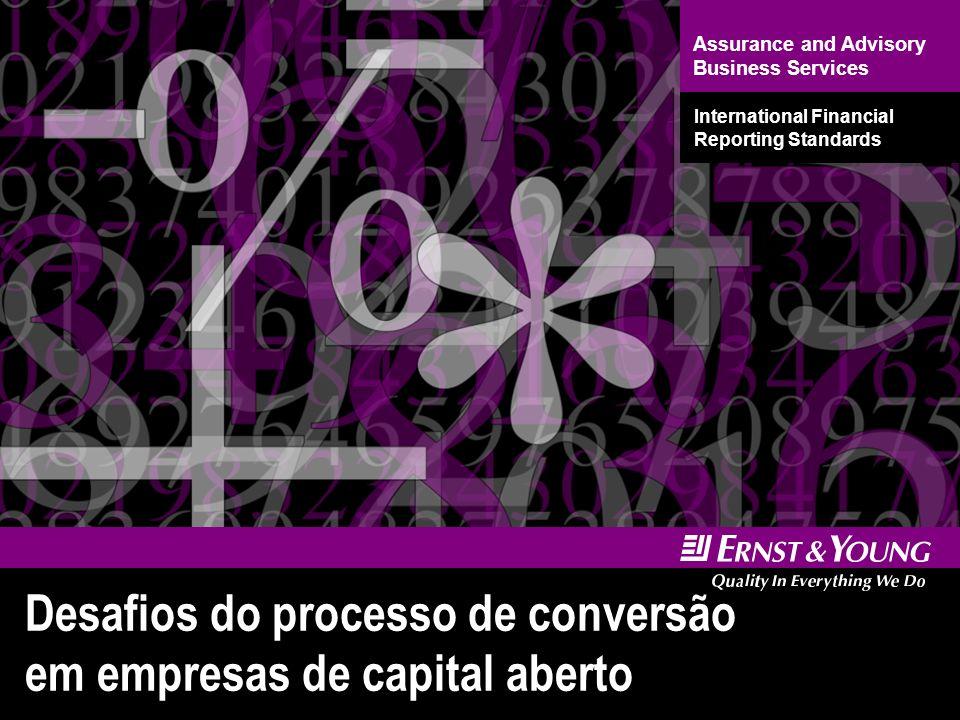 22 ProcessosFinanceiro TI Organizacional Desafios do processo de conversão Integração dos 4 elementos