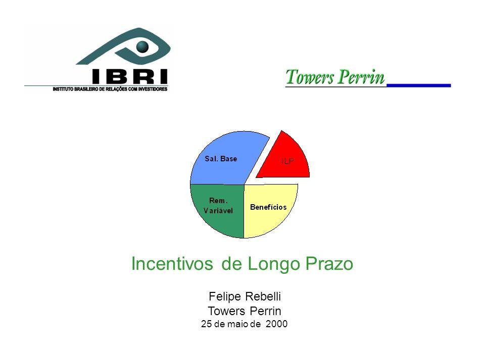 Incentivos de Longo Prazo Felipe Rebelli Towers Perrin 25 de maio de 2000