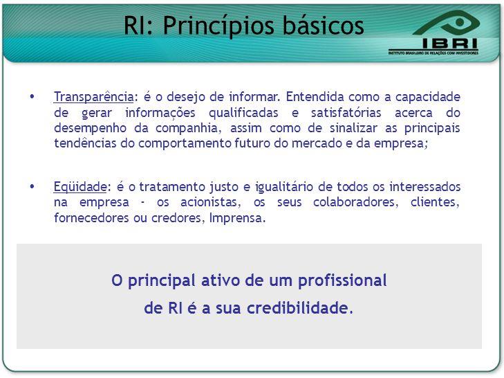 Nonon no onono non onnon onon no Noonn non on ononno nonon onno 9º Congresso Brasileiro de Jornalismo Empresarial, Assessorias de Imprensa e Relações Públicas O papel do profissional de Relações com Investidores nos avanços do mercado de capital brasileiro e no estratégico relacionamento com a mídia Geraldo Soares Presidente do IBRI 05/05/06