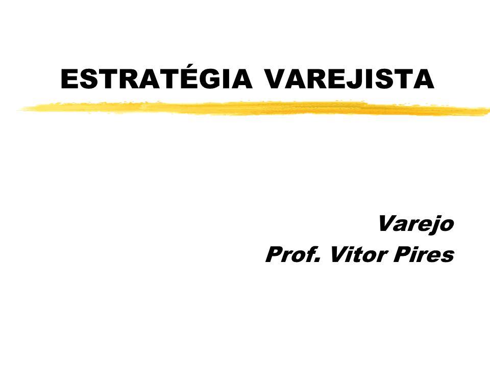 ESTRATÉGIA VAREJISTA Varejo Prof. Vitor Pires