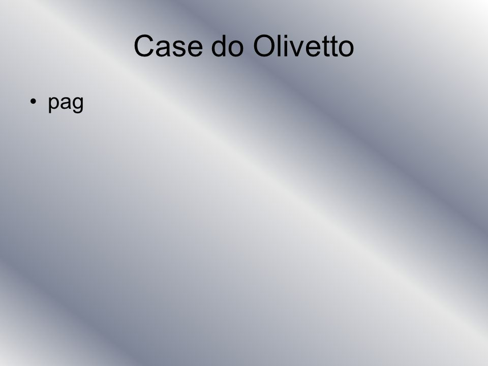 Case do Olivetto pag