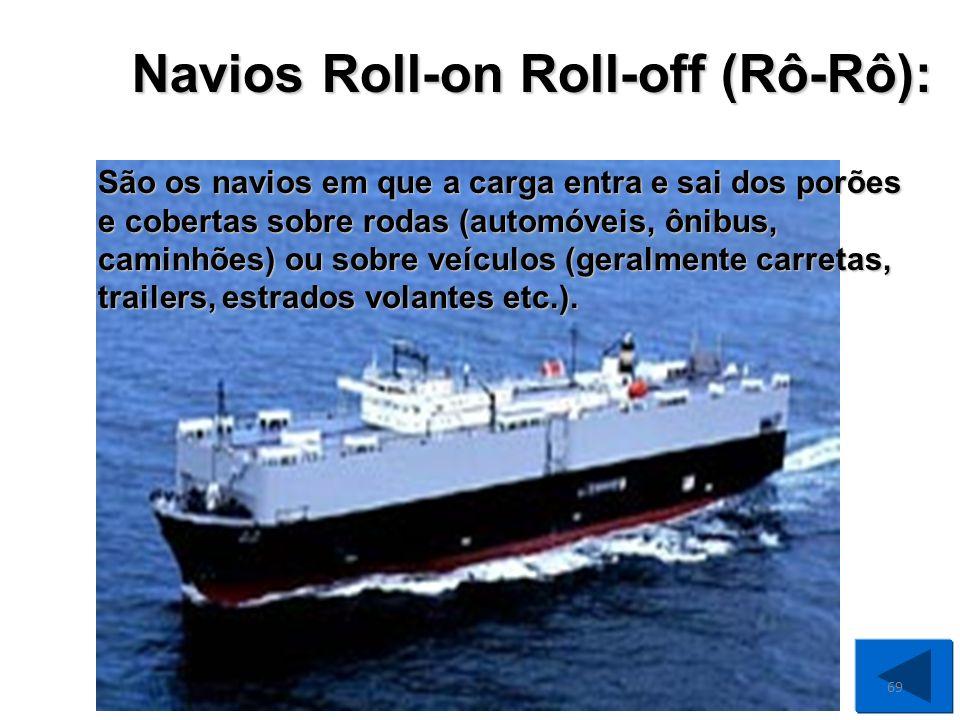São os navios semelhantes aos de carga geral mas normalmente não possuem além de um ou dois mastros simples sem paus de carga.