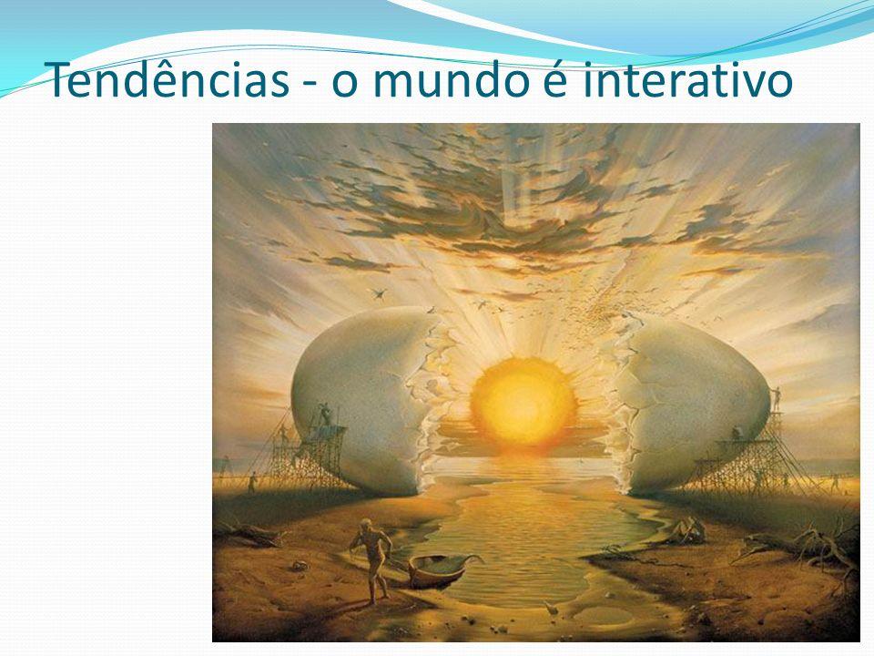Tendências - o mundo é interativo