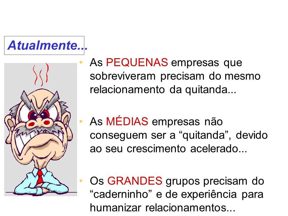 O avanço tecnológico possibilitou o surgimento de FERRAMENTAS para CRM...