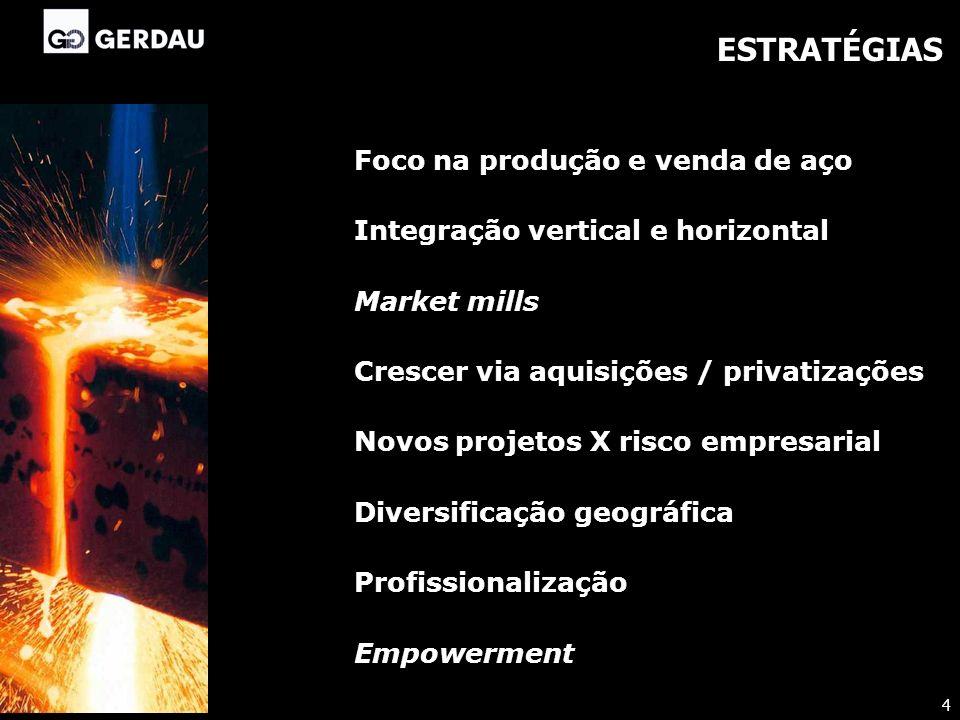 PROCESSOS DE CAPITALIZAÇÃO Abertura de capital Incentivos Fiscais FINOR e FISET Mercado Financeiro (Brasil e exterior) Covenants X Garantias reais Processo de privatização Reestruturação societária Internacionalização 5