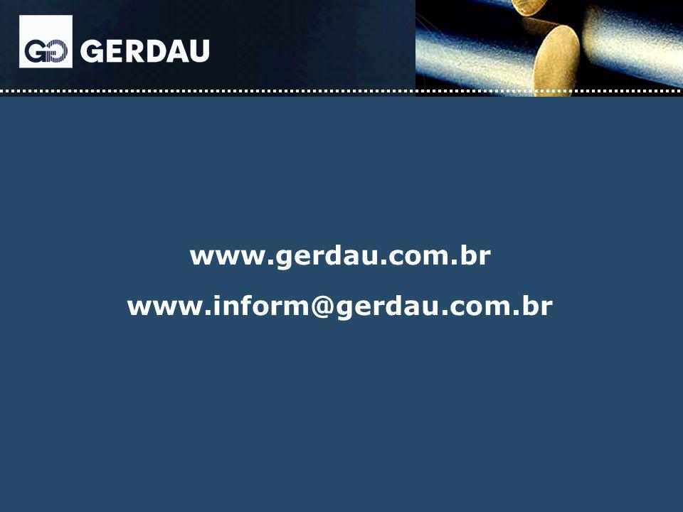 www.gerdau.com.br www.inform@gerdau.com.br