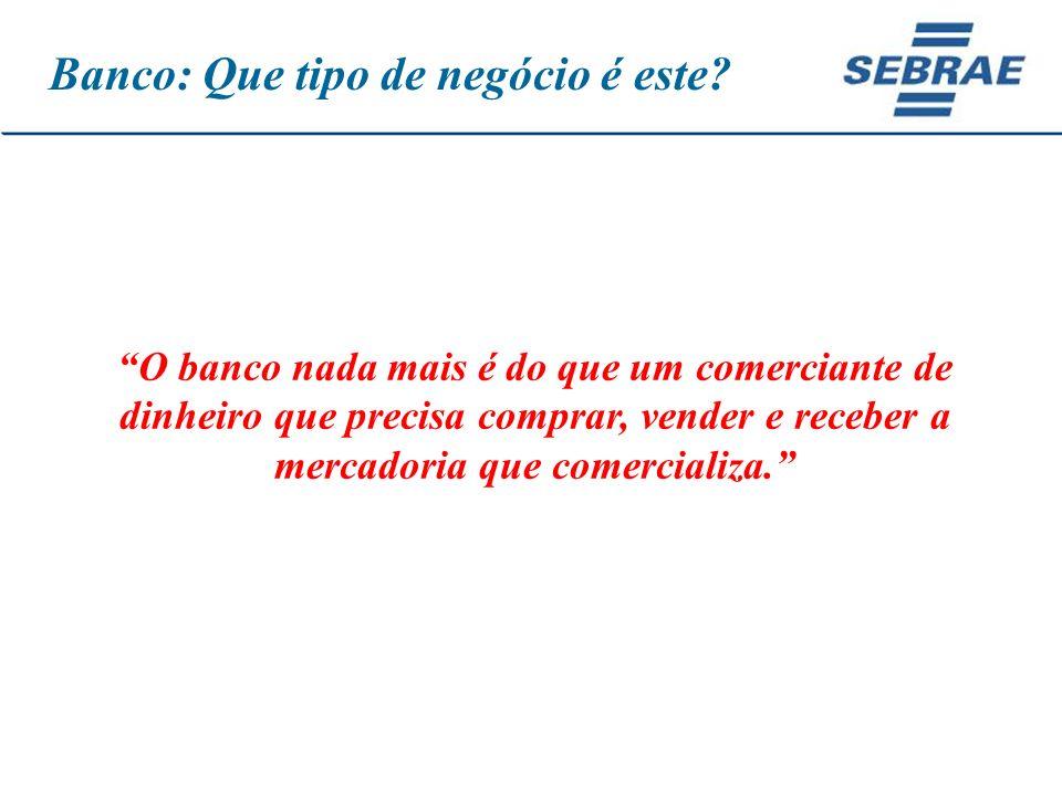 Para quem não sabe para onde vai, qualquer caminho serve (Lewis Carroll) Thiago de Lucas Pereira Pinto Técnico Agência de Cáceres E-mail: thiago.pereira@mt.sebrae.com.br Tel.: 65-3223-1840