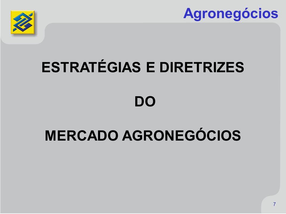 7 7 Agronegócios ESTRATÉGIAS E DIRETRIZES DO MERCADO AGRONEGÓCIOS