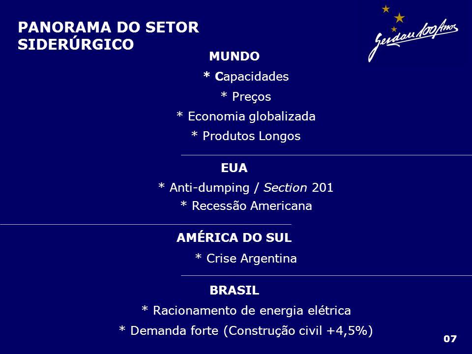 RECEITA LÍQUIDA DE VENDAS 18 Em R$ milhões 3T012T01 1.726 1.516 BRASIL - Maior volume de vendas no mercado interno onde preços são maiores EXTERIOR – Crescimento de 15% em função da variação cambial
