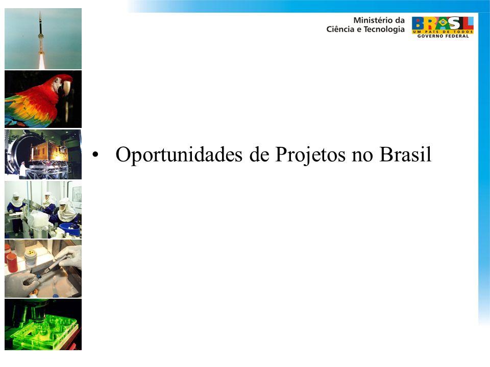 Oportunidades de Projetos no Brasil