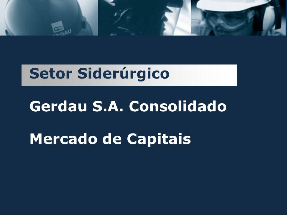 Investimentos 2003 Gerdau Açominas US$ 230 mm América do Sul US$ 7 mm América do Norte US$ 59 mm NOVO LAMINADOR DE FIO-MÁQUINA Capacidade instalada: 550 mil toneladas/ano Total investido: US$ 66 milhões TOTAL EM 2003: US$ 295 MM ORÇADO PARA 2004: US$ 300 MM 23