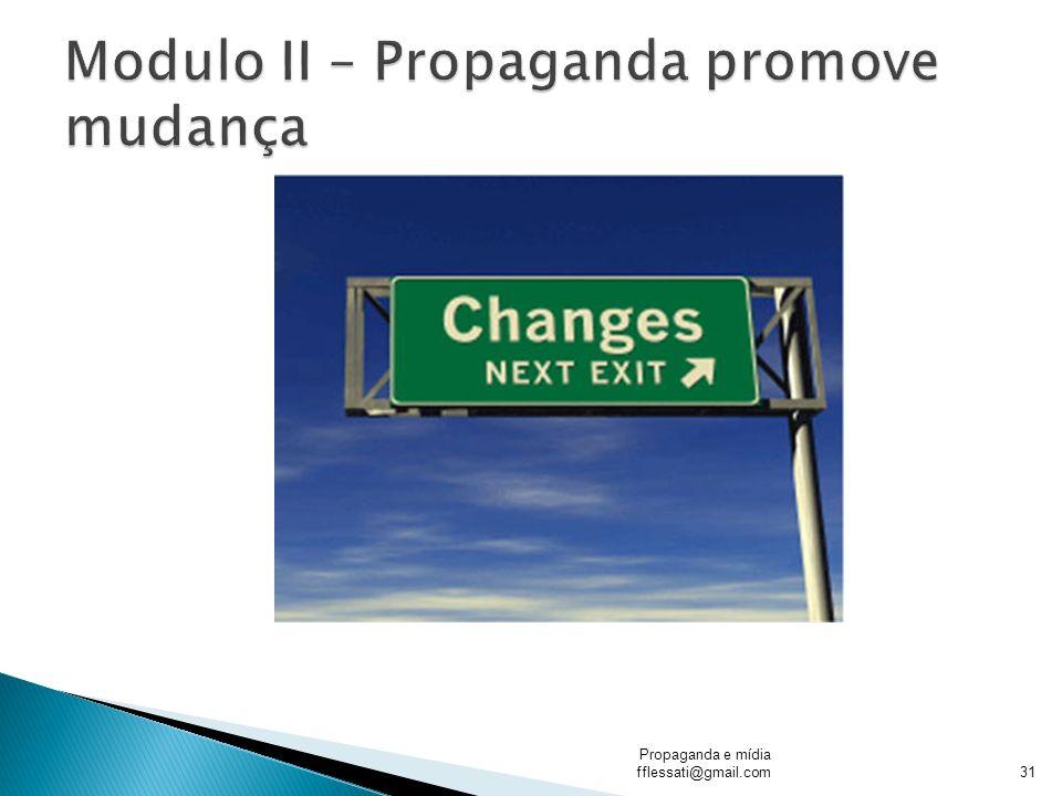 Propaganda e mídia fflessati@gmail.com31