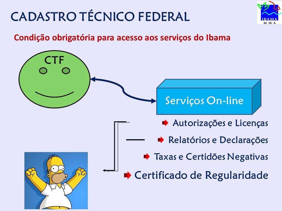Como se cadastrar www.ibama.gov.br DECLARAÇÃO DE PORTE
