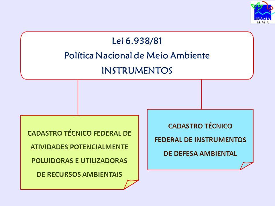 Como se cadastrar www.ibama.gov.br ENQUADRAMENTO DA ATIVIDADE
