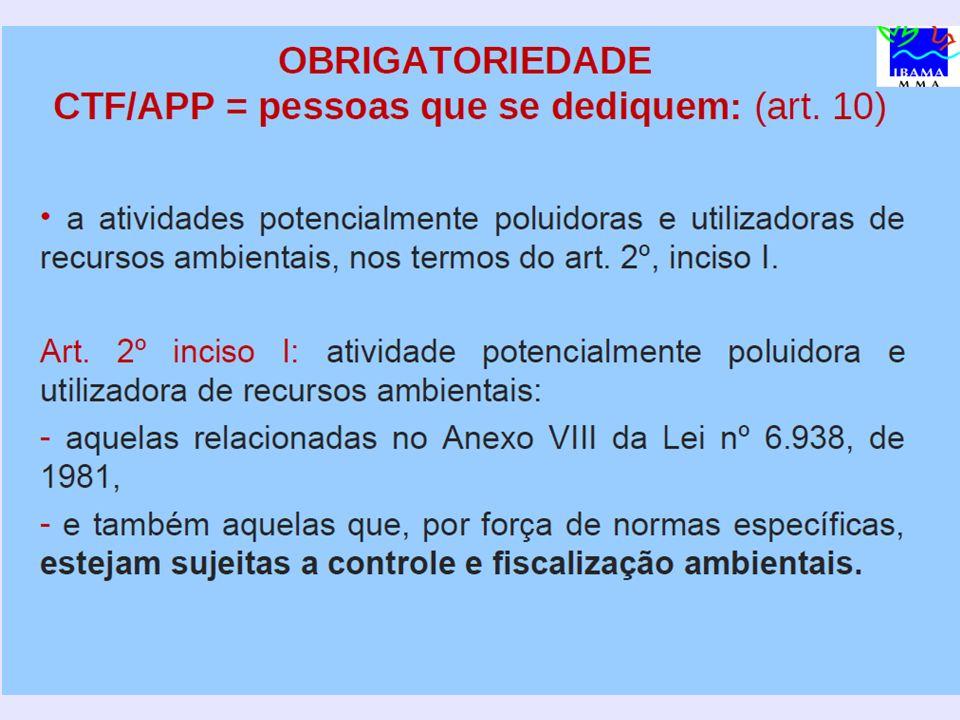R Recadastramento obrigatório (art.