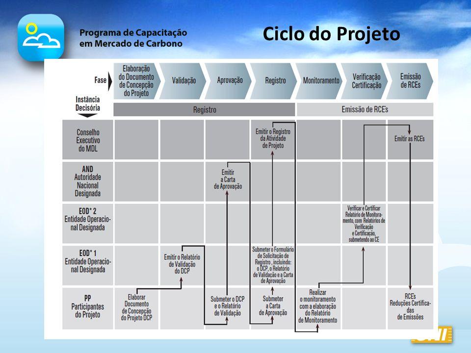 Ciclo do Projeto