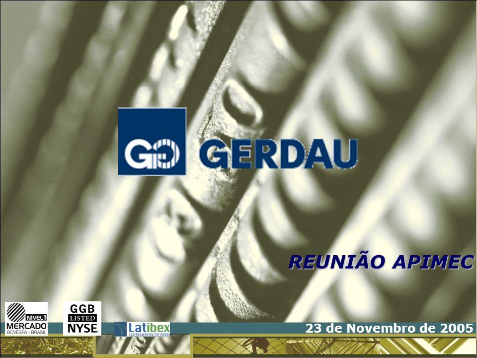 REUNIÃO APIMEC 23 de Novembro de 2005