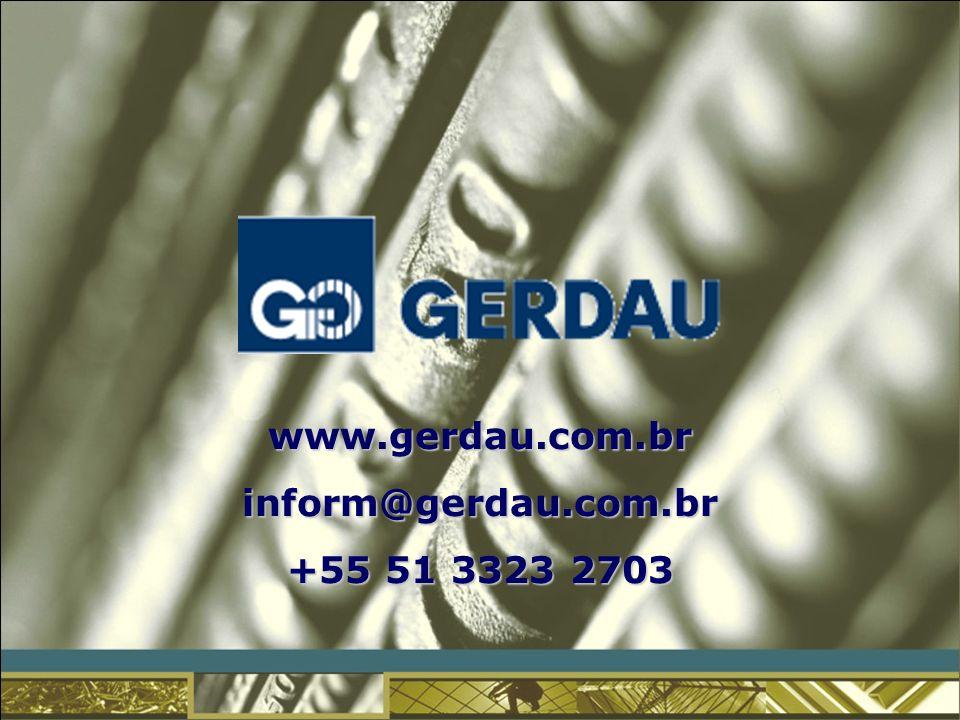 www.gerdau.com.brinform@gerdau.com.br +55 51 3323 2703