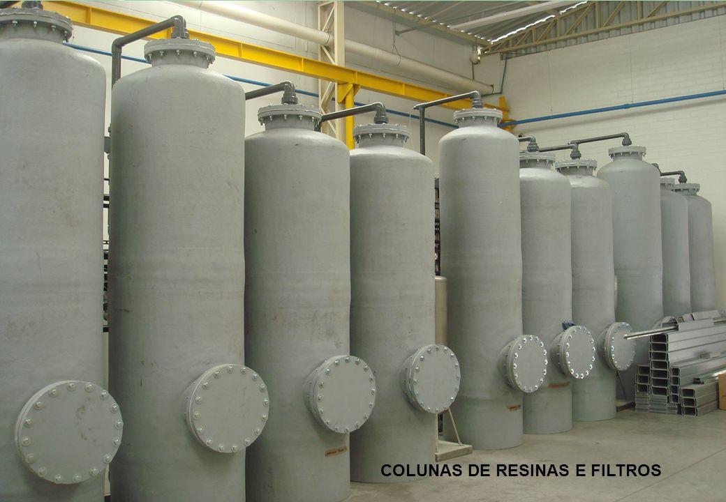 Ministério do Meio Ambiente Promoção: COLUNAS DE RESINAS E FILTROS