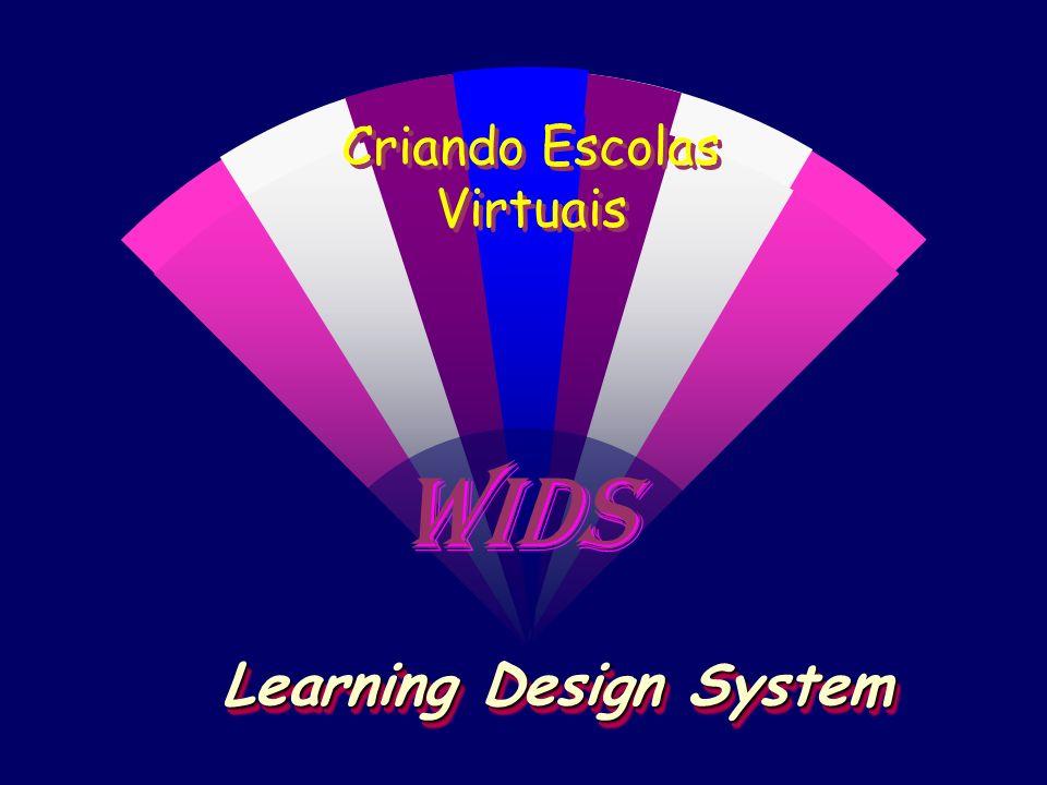 WIDS Criando Escolas Virtuais Learning Design System