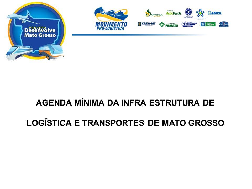Necessidade: A idéia da produção desse material deu-se pela carência de um estudo que abrangesse a visão do setor produtivo sobre a situação atual do sistema de logística de transporte do Estado de Mato Grosso.