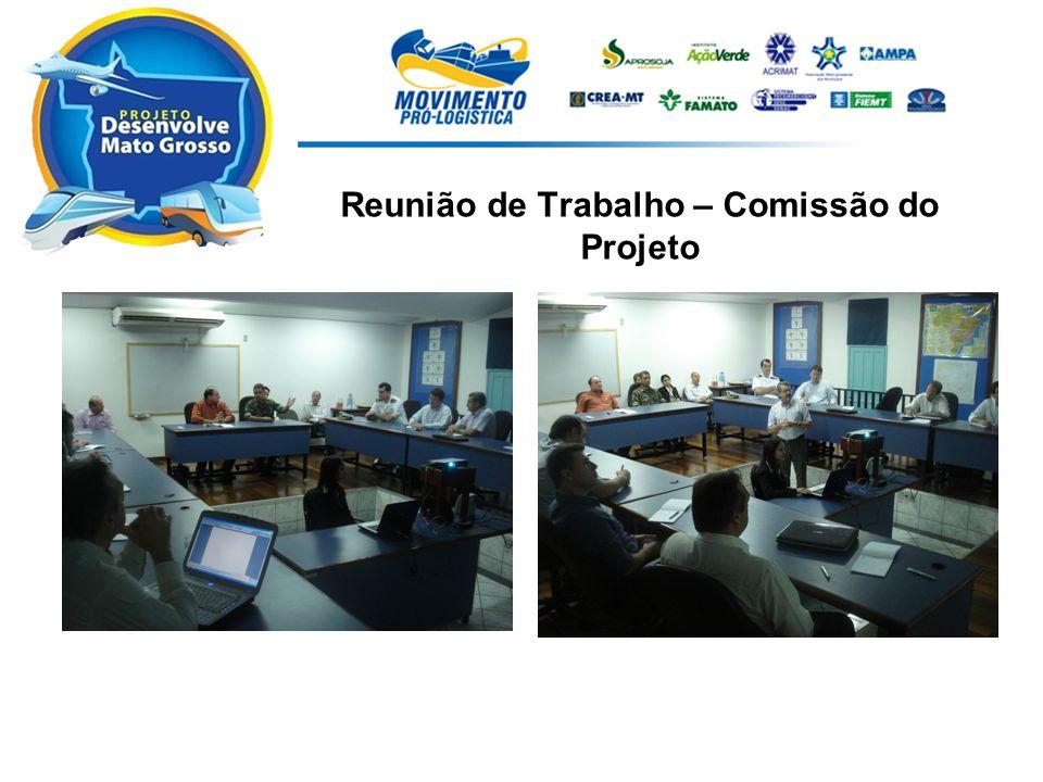 Reunião de Trabalho – Comissão do Projeto