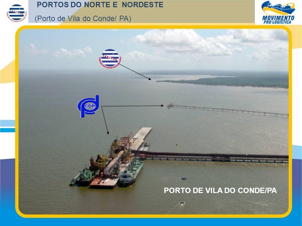 PORTO DE VILA DO CONDE/PA PORTOS DO NORTE E NORDESTE (Porto de Vila do Conde/ PA)