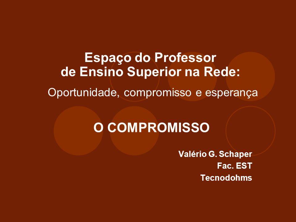 Introdução Que relação há entre educação e compromisso.