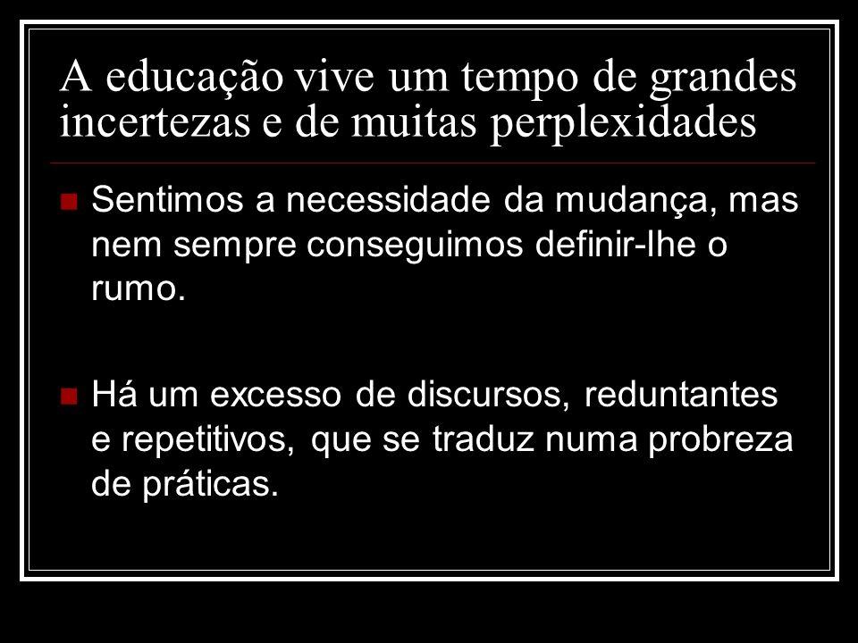 Este power point teve como referências o último trabalho de António Nóvoa intitulado: Professores: imagens do futuro presente.