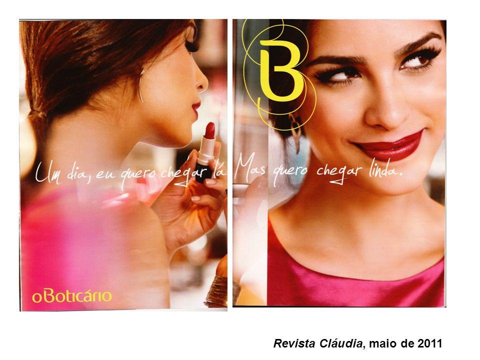 Revista Cláudia, maio de 2011