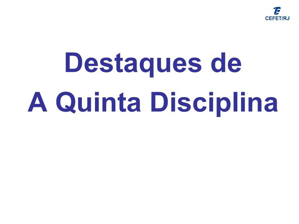 Destaques de A Quinta Disciplina