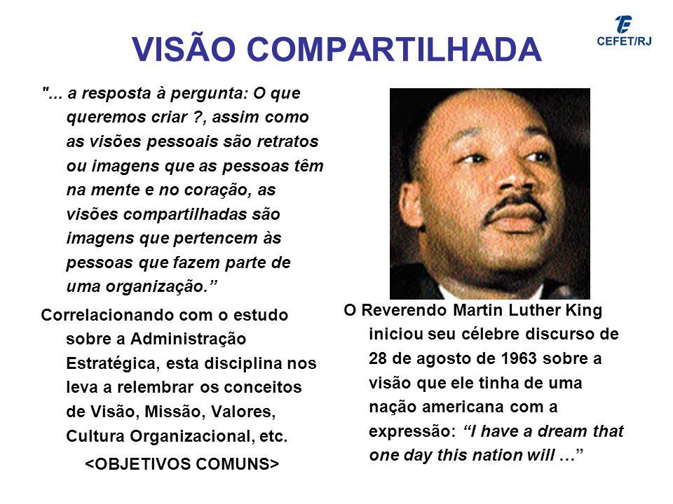 VISÃO COMPARTILHADA