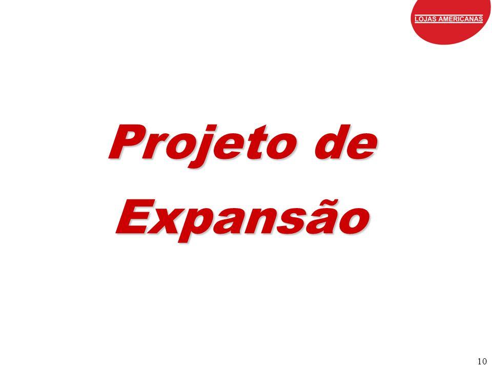 10 Projeto de Expansão