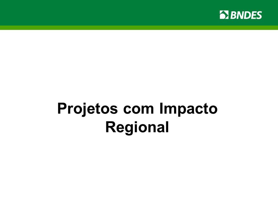 Projetos com Impacto Regional