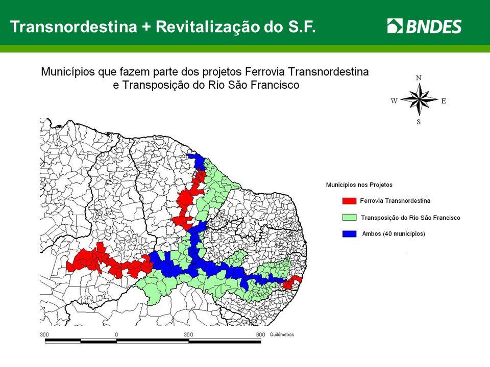 Transnordestina + Revitalização do S.F.