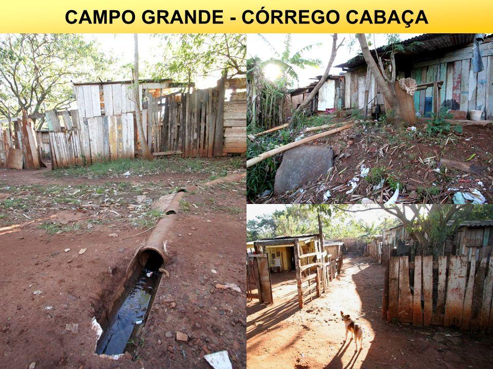 13 CAMPO GRANDE - CÓRREGO CABAÇA