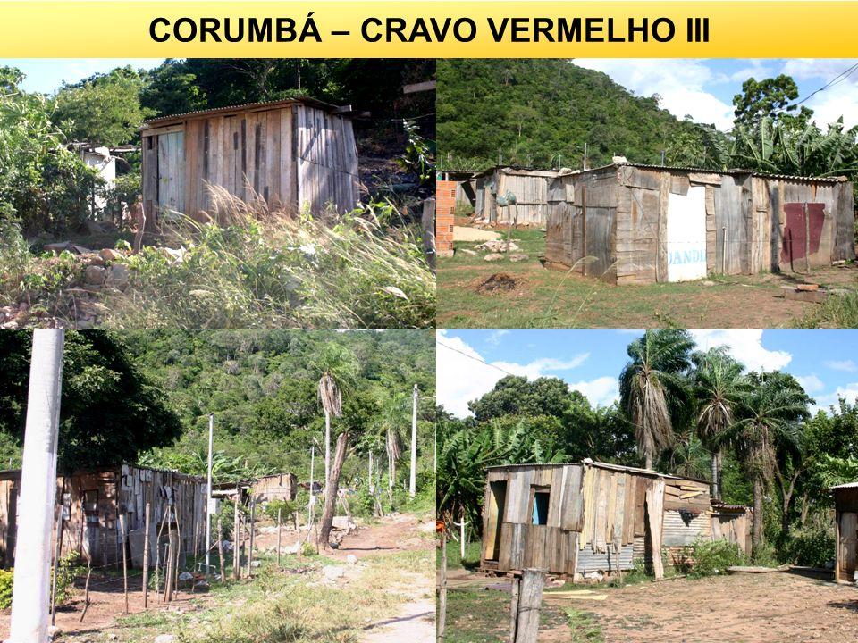 16 CORUMBÁ – CRAVO VERMELHO III