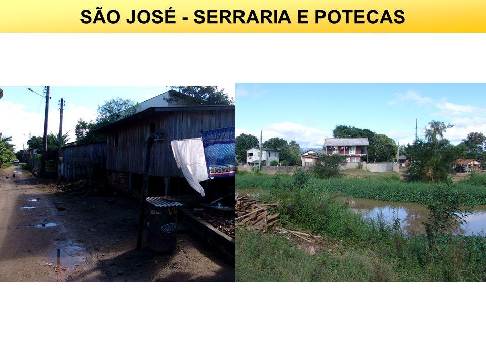 SÃO JOSÉ - SERRARIA E POTECAS