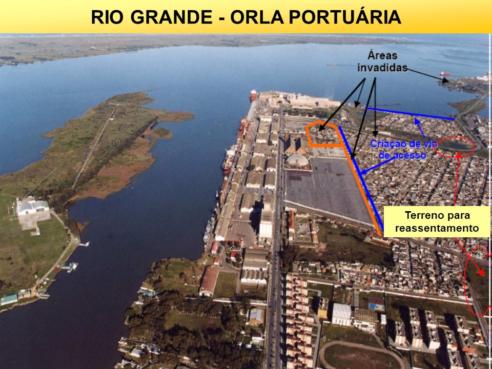 RIO GRANDE - ORLA PORTUÁRIA 32 Terreno para reassentamento