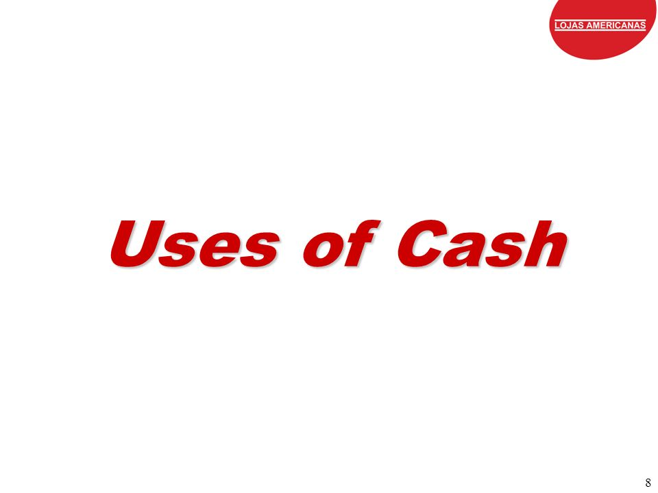 8 Uses of Cash