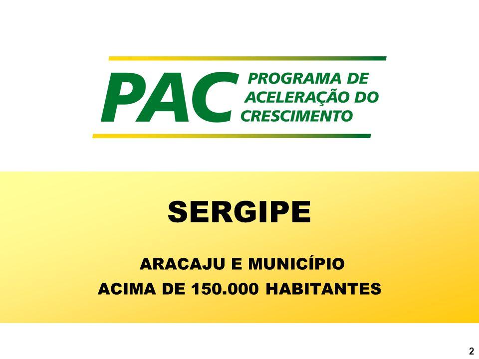 2 SERGIPE ARACAJU E MUNICÍPIO ACIMA DE 150.000 HABITANTES
