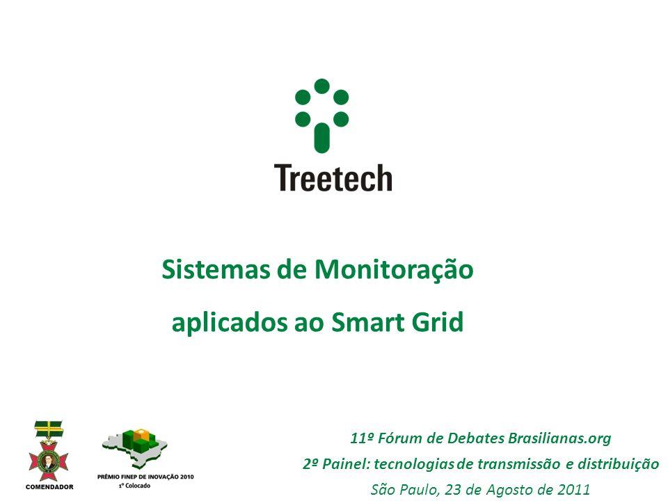 Sistemas de Monitoração aplicados ao Smart Grid 11º Fórum de Debates Brasilianas.org 2º Painel: tecnologias de transmissão e distribuição São Paulo, 2