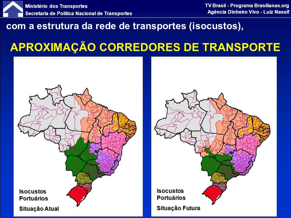 Ministério dos Transportes Secretaria de Política Nacional de Transportes TV Brasil - Programa Brasilianas.org Agência Dinheiro Vivo - Luiz Nassif preservando o meio ambiente (ecossistema e biodiversidade), APROXIMAÇÃO SUSTENTABILIDADE AMBIENTAL Biomas, Unidades de Conservação e Terras Indígenas Existentes e Demandadas