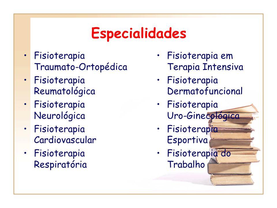 Fisioterapia em Traumato-Ortopedia Hidroterapia Fisioterapia Dermatofuncional