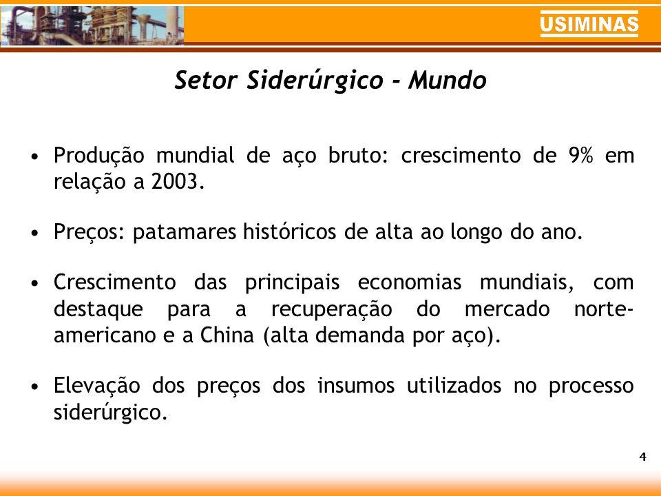 Perspectivas Economia brasileira tende a crescer cerca de 3,5% em 2005.