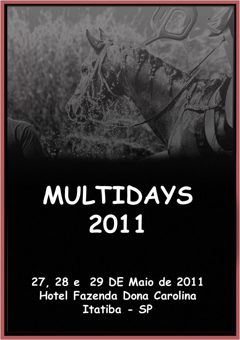 MULTIDAYS 2011 27, 28 e 29 DE Maio de 2011 Hotel Fazenda Dona Carolina Itatiba - SP