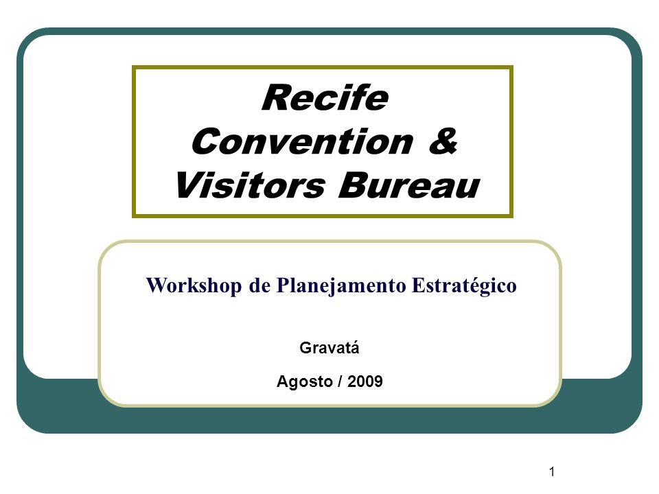 Recife Convention & Visitors Bureau Gravatá Agosto / 2009 1 Workshop de Planejamento Estratégico