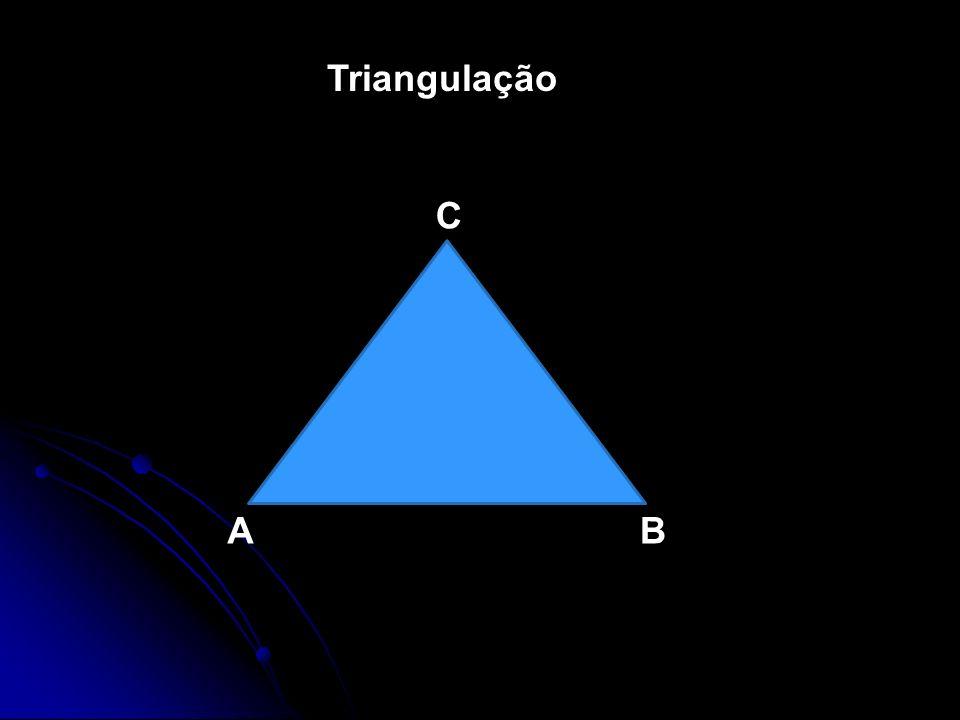 Triangulação AB C