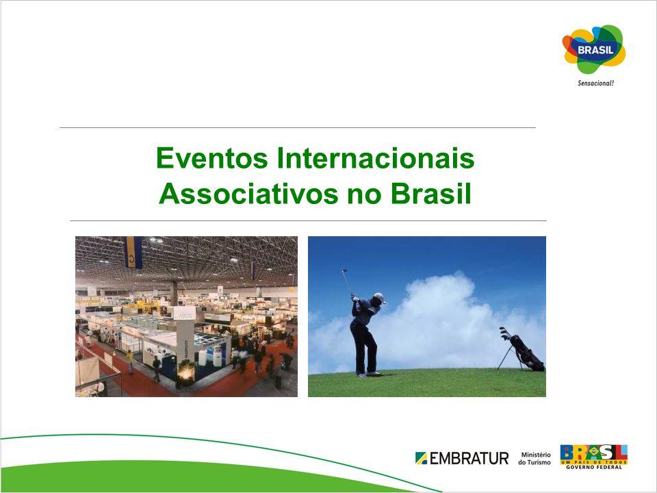Eventos Internacionais Associativos no Brasil