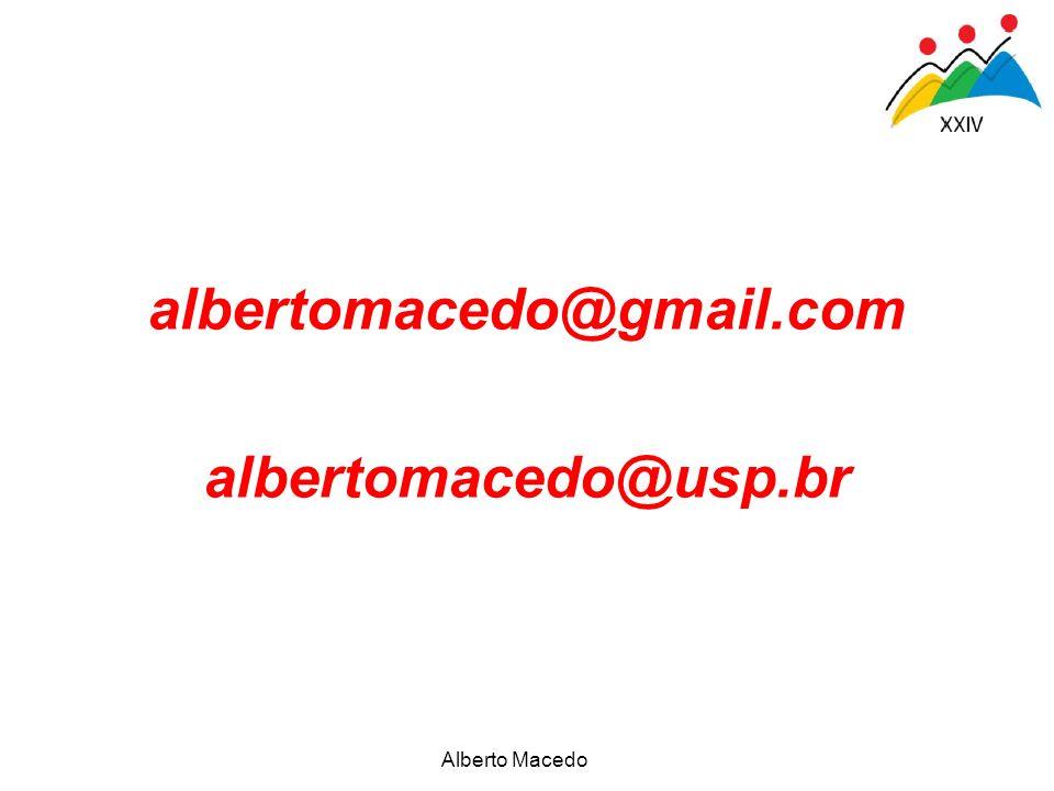 Alberto Macedo albertomacedo@gmail.com albertomacedo@usp.br